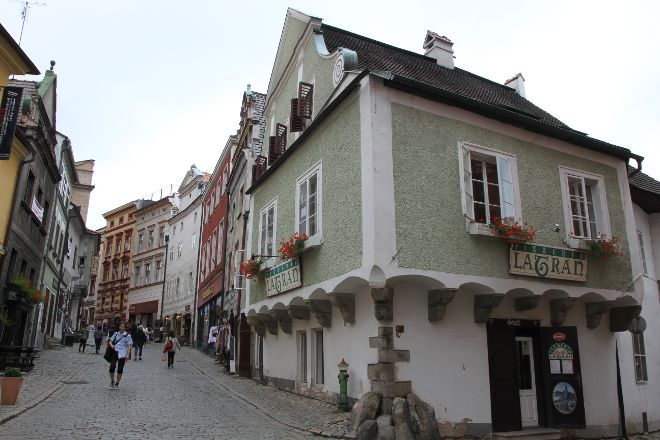 Former Fink Cafe, Cesky Krumlov, Czech Republic