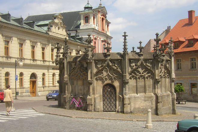 Gothic Stone Fountain, Kutna Hora, Czech Republic