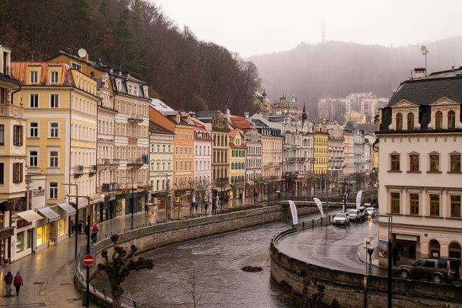 Hot Spring Colonnade, Karlovy Vary, Czech Republic