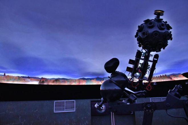 HvEzdarna a planetarium, Ceske Budejovice, Czech Republic