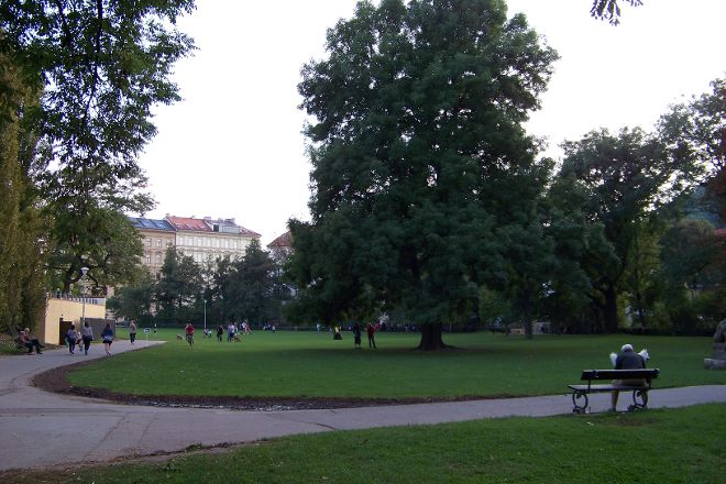 Kampa Park, Prague, Czech Republic