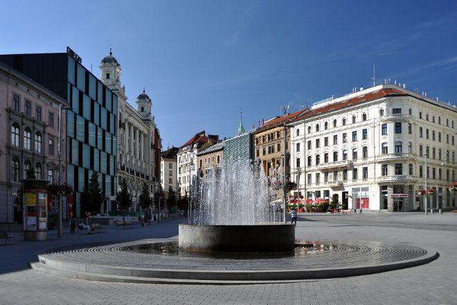 Liberty Square, Brno, Czech Republic