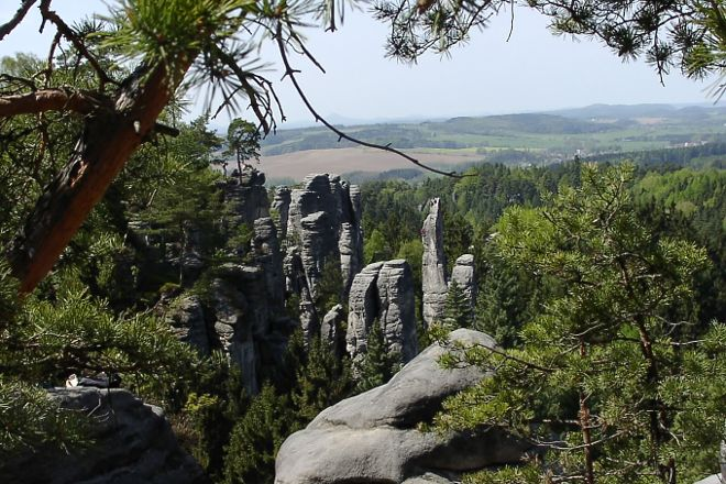 Prachov Rocks, Jicin, Czech Republic