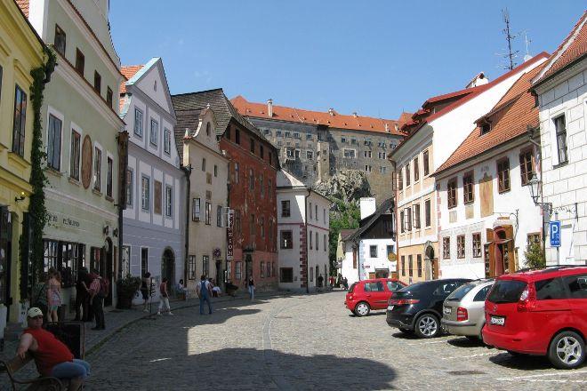Siroka Ulice Cesky Krumlov, Cesky Krumlov, Czech Republic