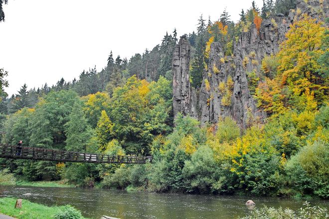 Svatosske skaly, Karlovy Vary, Czech Republic