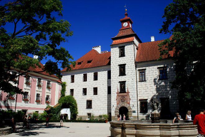 Trebon Chateau, Trebon, Czech Republic