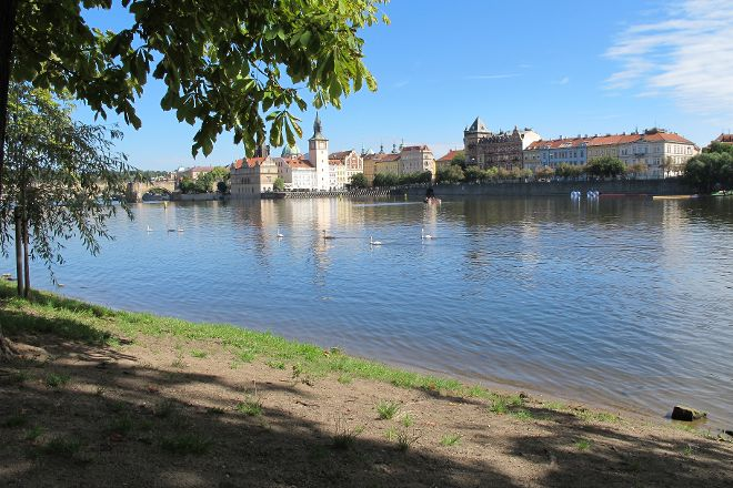 Vltava Beach, Prague, Czech Republic