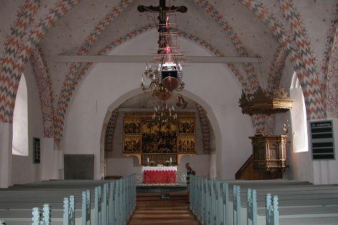 Bregninge Kirke, Aeroskobing, Denmark