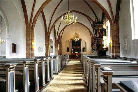 Faxe Kirke, Faxe, Denmark