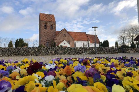 Skjoldbjerg Kirke, Vorbasse, Denmark