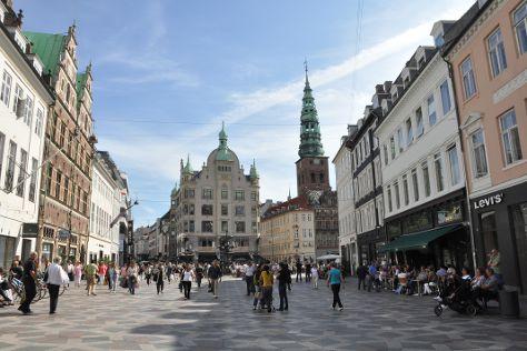 Stroeget, Copenhagen, Denmark
