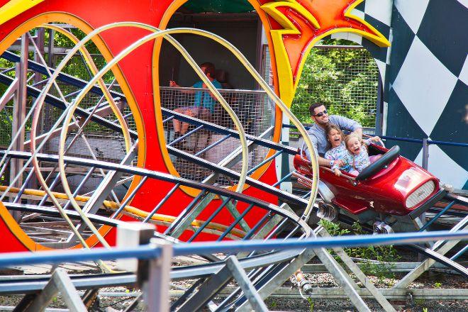 Bakken - World's Oldest Amusement Park, Copenhagen, Denmark