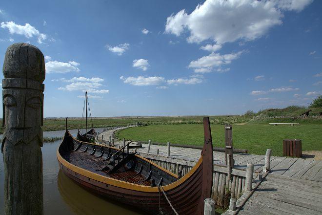 Bork Viking Harbour, Obling, Denmark