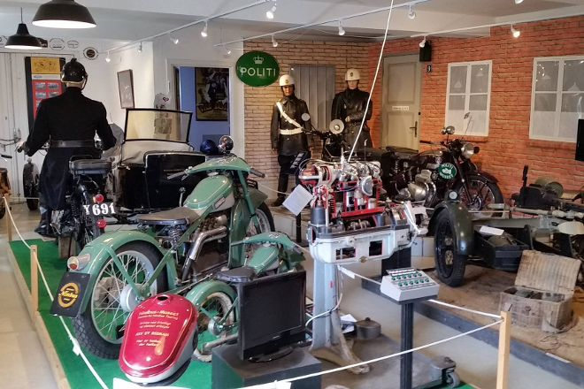 Danmarks Nimbus Tourings Motorcykle-Museum, Horsens, Denmark