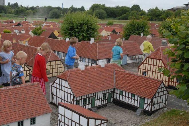 Den Historiske Miniby, Fredericia, Denmark