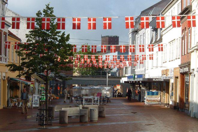 Downtown Kolding, Kolding, Denmark