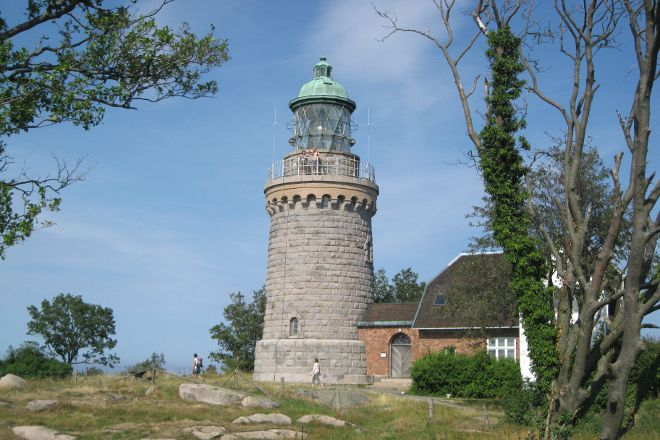 Hammer Lighthouse (Hammer Fyr), Sandvig, Denmark