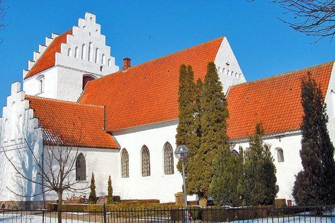 Hunseby Kirke, Maribo, Denmark