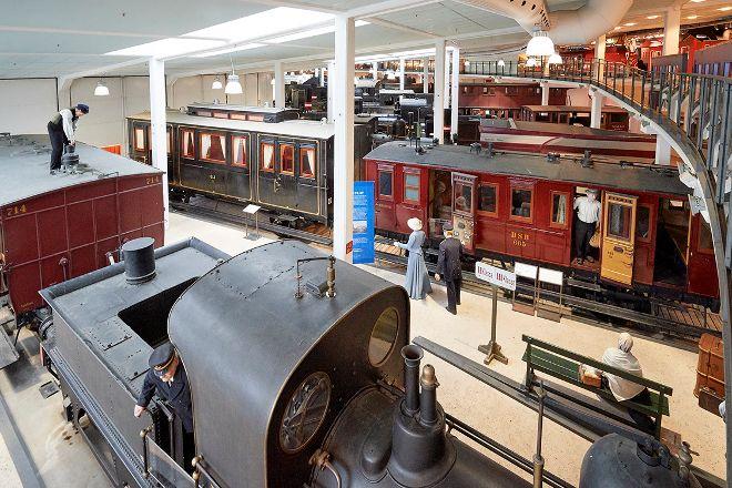 The Danish Railway Museum, Odense, Denmark