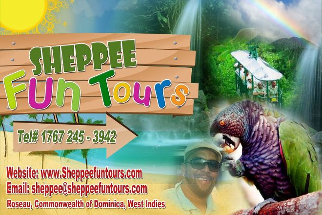 Sheppee Fun Tours, Roseau, Dominica