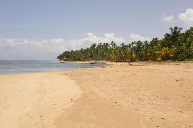 Playa Punta Popy, Las Terrenas, Dominican Republic