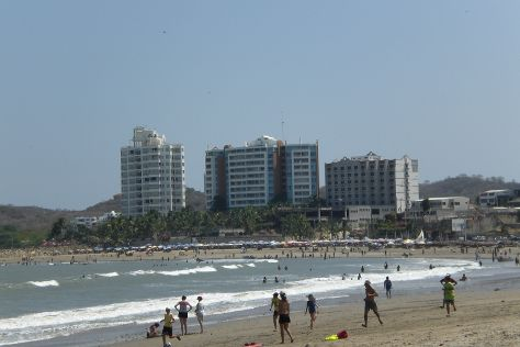General Villamil Beach, Playas, Ecuador