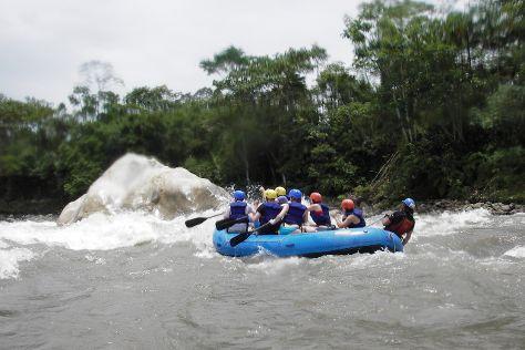 Jatunyacu River, Tena, Ecuador