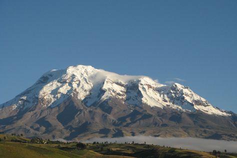 Mount Chimborazo, Chimborazo Province, Ecuador
