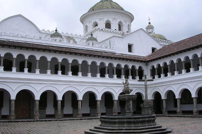 Basilica de Nuestra Senora de la Merced, Quito, Ecuador