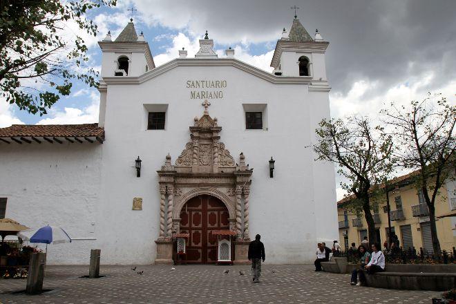 El Carmen de la Asuncion Church, Cuenca, Ecuador