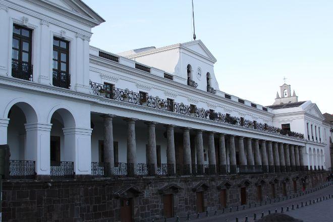 El Palacio de Gobierno, Quito, Ecuador