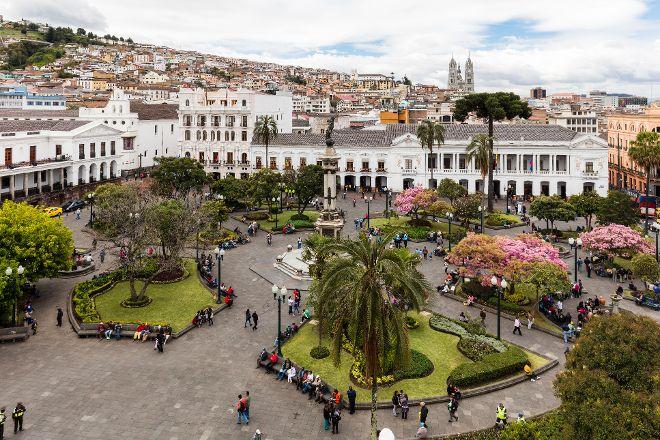 Independence Square, Quito, Ecuador