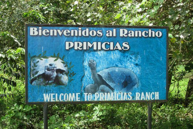 Rancho Primicias, Santa Cruz, Ecuador