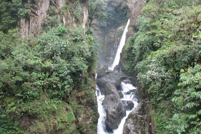 Ruta de las cascadas, Banos, Ecuador
