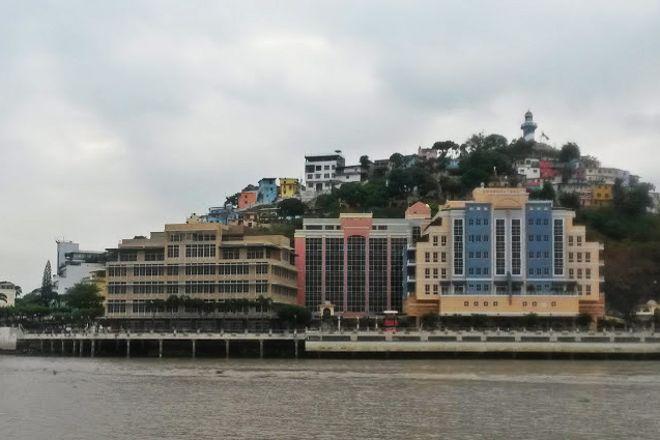 Santa Ana Port, Guayaquil, Ecuador