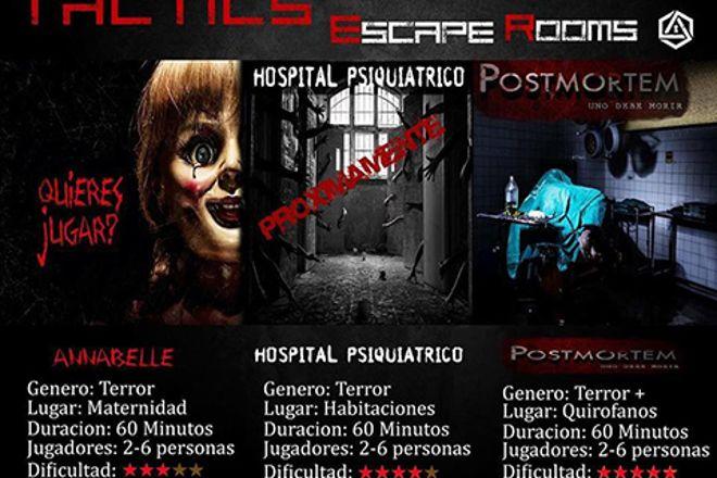 TACTICS Escape Rooms, Quito, Ecuador