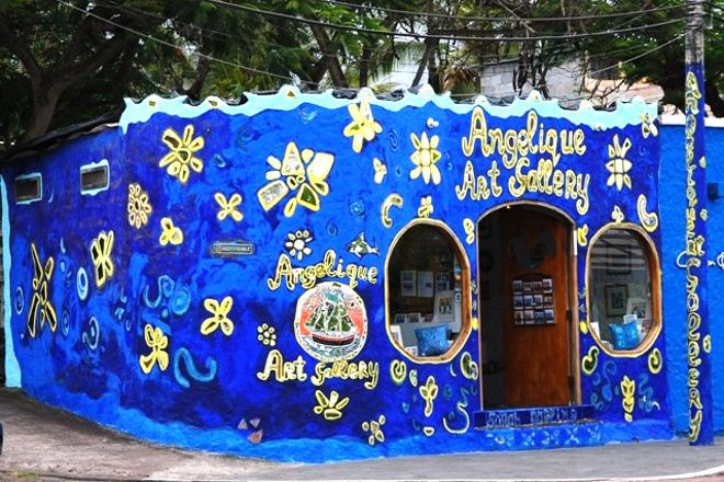 The Angelique Art Gallery, Puerto Ayora, Ecuador