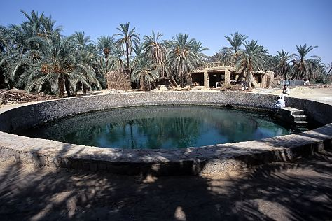 Cleopatra's Pool - Spring of Juba, Siwa, Egypt