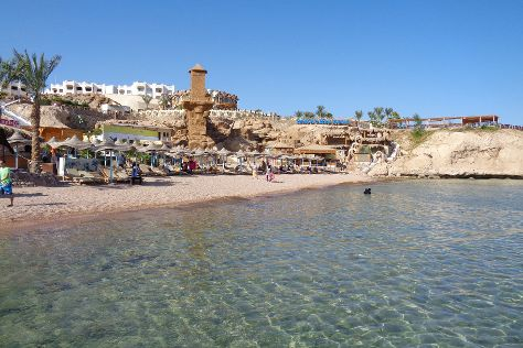 Shark's Bay Beach, Sharm El Sheikh, Egypt