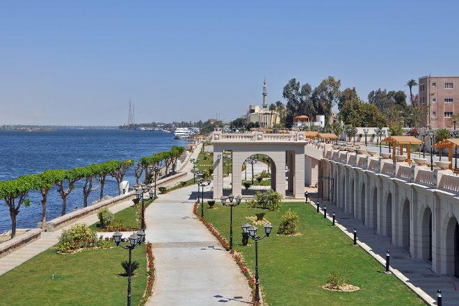 Corniche, Luxor, Egypt