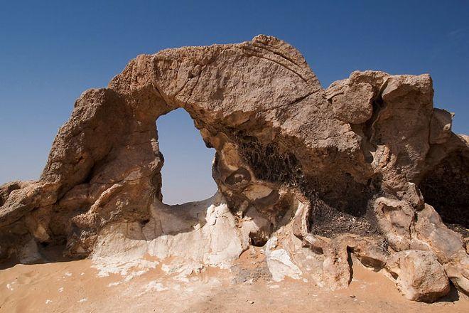 Cristal mountain, Bawiti, Egypt