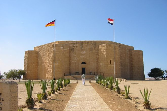 Deutsche Kriegsgraeberstatte, El Alamein, Egypt