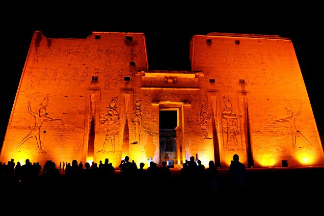 Edfu Sound and Light Show, Edfu, Egypt