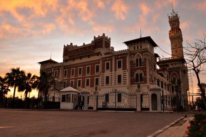 King Farouk Palace, Alexandria, Egypt
