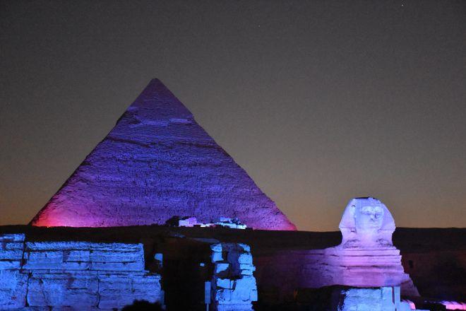 Luxor Sound and Light Show, Luxor, Egypt
