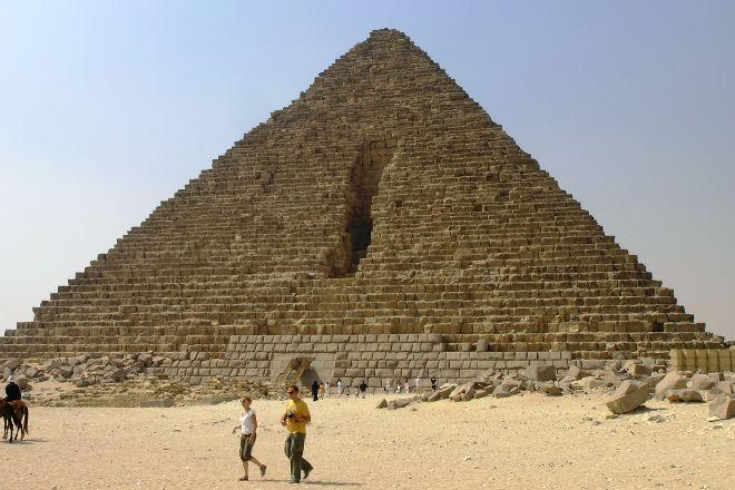 Menkaure Pyramid, Giza, Egypt