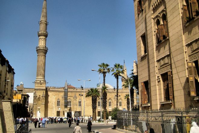 Midan Hussein, Cairo, Egypt
