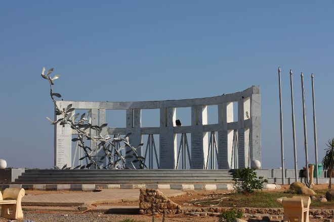 Monument to the Victims of Plane Crash of Boeing 737, Sharm El Sheikh, Egypt