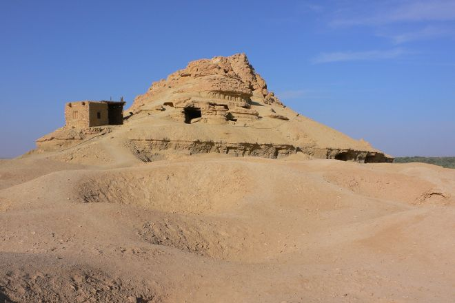 Mountain of the Dead, Siwa, Egypt