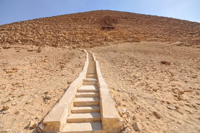 North Pyramid (Piramide Roja), Cairo, Egypt